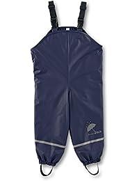 Sterntaler 5651445 Rain Dungarees With Fleece Lining - Pantalones impermeable Bebé-Niños