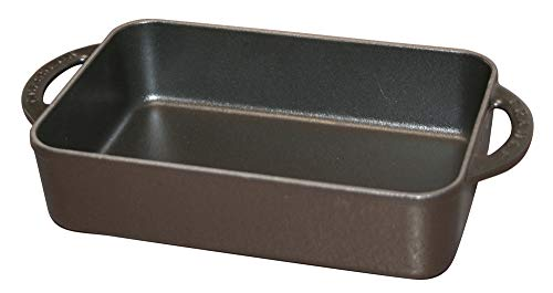 Chasseur Auflaufform, Gusseisen, schwarz, 39.5 x 22 x 5.5 cm