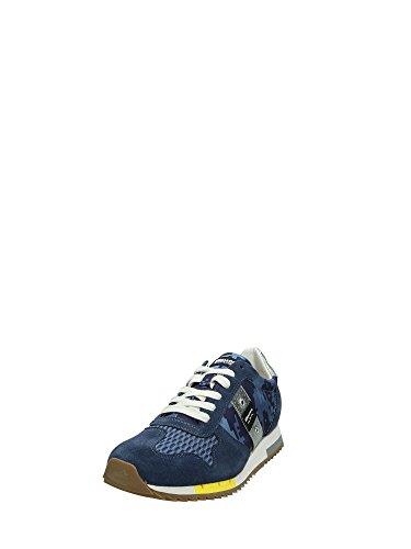 Blauer 7SRUNLOW/PIX Sneakers Bassa Uomo Blu