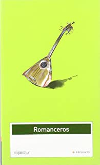 Romancero par  Juana Mª Gracia Fernandez