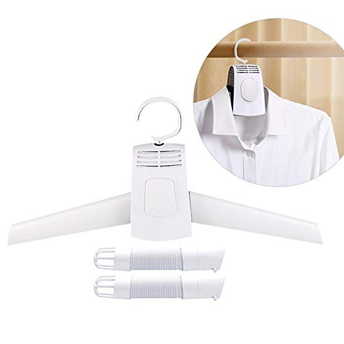 Ksruee Mini Air Dryer Trockner Kleiderbügel Wäschetrockner, Elektrischer Kleidertrockner, Schuh Trockner Heizung für Home Urlaub Camping