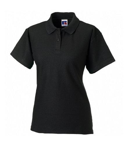 Russell Athletic - Polo -  Femme Noir - Noir