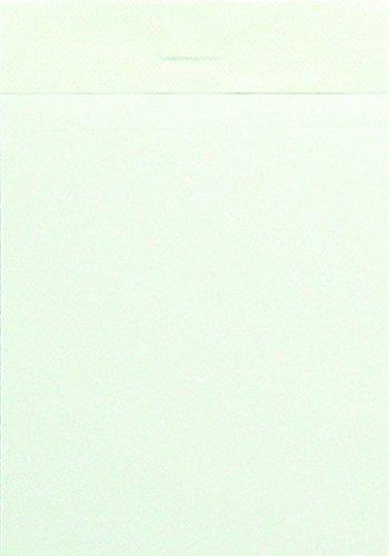 LANDRE-100101166-Notizblock-10er-Pack-ohne-Deckblatt-A7-blanko-60-gm-50-Blatt-schwarz-geflzelt-perforiert