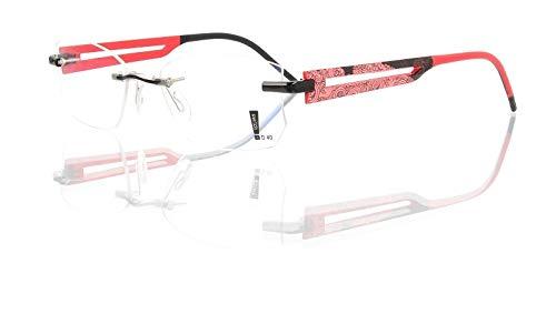 switch it Garnitur Combi 2363 Wechselbügel Montur in der Farbe Style rot, Druck rosa-schwarz