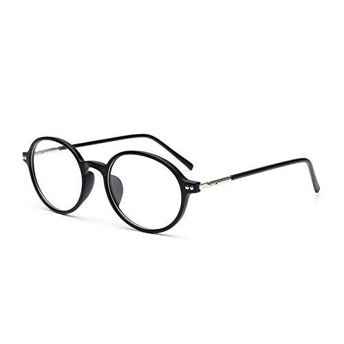 SNXIHES Sonnenbrillen Heiße Männliche Runde Brillengestell-Frauen-Weinlese-Verordnungs-Brillen-Volle Optische Rahmen-Brillen 1