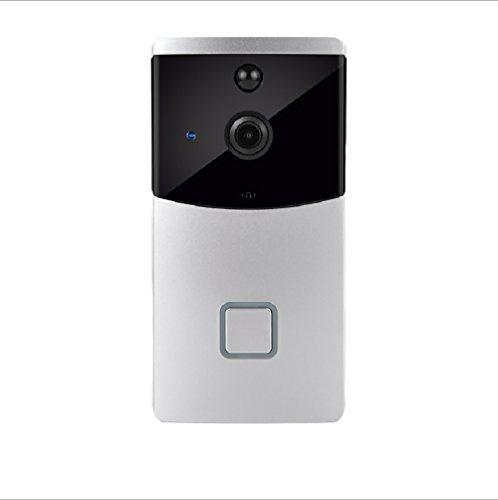Preisvergleich Produktbild Video Türklingel 720P HD Wifi Überwachungskamera mit 8G Speicher,  Echtzeit-Zwei-Wege-Talk und Video,  Nachtsicht