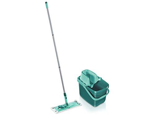 Leifheit Combi Clean Twist - Juego de limpieza de acero inoxidable, 12 l, color azul