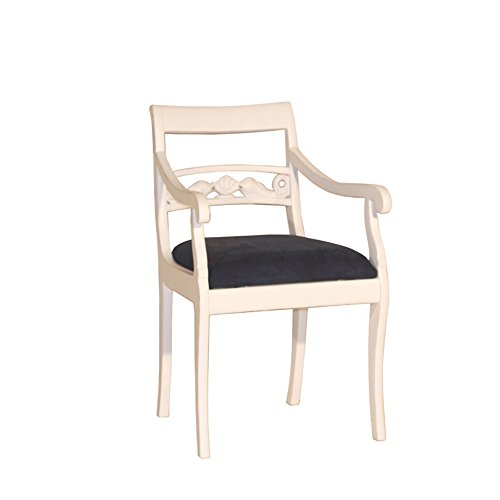 Armlehnenstuhl Fish Landhausmöbel Stilmöbel Stuhl Armchair