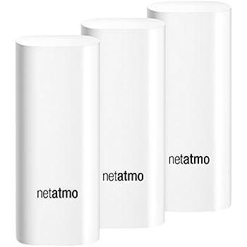 Netatmo Tags DTG01-EUS-A Capteurs de Sécurité des Portes et Fenêtres pour Caméra Welcome