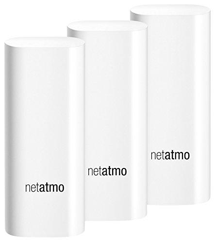 Netatmo Tags, Sensoren für Welcome Kamera, 3 Stück, DTG01-EUS-A