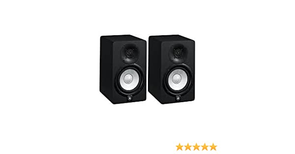 yamaha hs5 pair. Yamaha HS5 Pair 2-way Bass-reflex Bi-amplified Nearfield Studio Monitors With 5 Inch Woofers: Amazon.co.uk: Musical Instruments Hs5