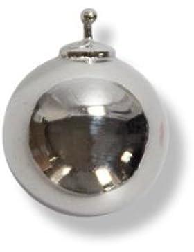 HEIDE HEINZENDORFF Einhängerpaar Kugel poliert Silber, Durchmesser 14 mm