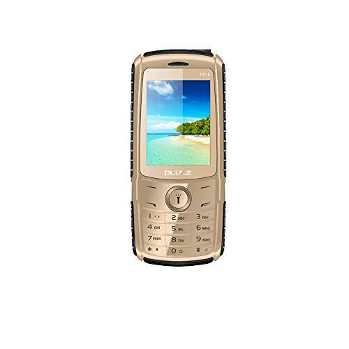 Fulltime E-Gadget 2,4 Zoll Funktionale Telefonkamera RAM 32 MB FM Dual SIM-Karte großer Lautsprecher Handy (Gold)