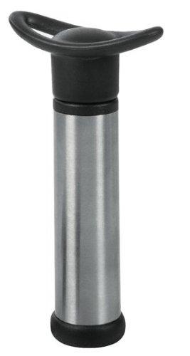 Eva Collection Vakuumpumpe mit Silikon-Dichtungen und 2 Verschlüssen, rostfrei