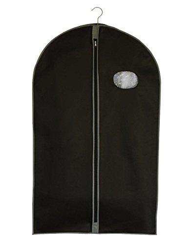 JASSZ, PP-60100-SB-transporte o almacenamiento de ropa-Subcarpetas chaquetas-uniforme Trajes y vestidos Negro negro 60 x 100 cm