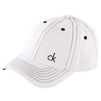 Calvin Klein Golf-Casquette Baseball en sergé Blanc blanc N/A