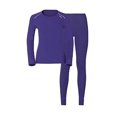 Odlo Damen Shirt L/S Pants Long Warm Set Unterhemd & Unterhose
