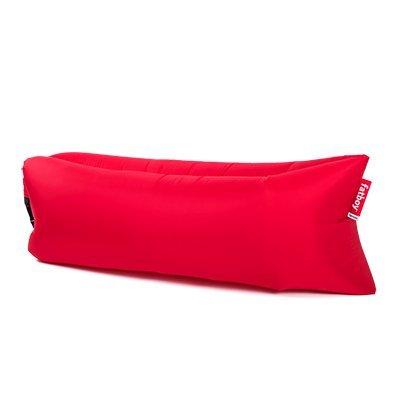 lamzac Fatboy 2.0 Luftsofa Red   Aufblasbares Sofa/Liege in Rot, Sitzsack mit Luft gefüllt   Outdoor geeignet   200 x 90 x 50 cm