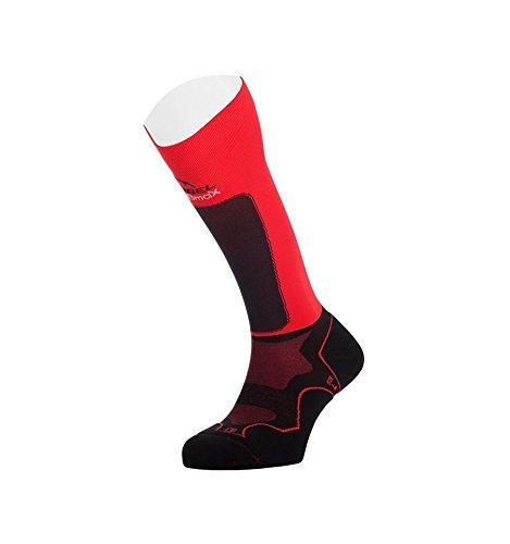 Lurbel - Socks Trail Plus, color red, talla M