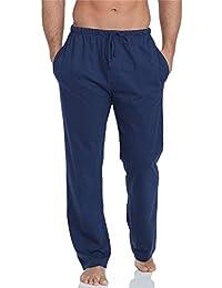 4417b2c0375 Amazon.fr   Bleu - Bas de pyjama   Vêtements de nuit   Vêtements