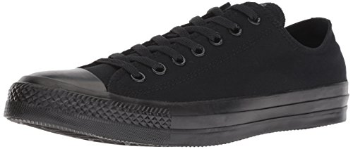 Converse All Star Ox Chaussures Baskets en Toile (Mono Black) - 4 UK - 36.5