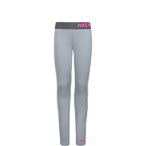 Nike Pro Hyperwarm Compression 3.0 Pants Girls,Grey,S (Mädchen Für Spandex Nike)