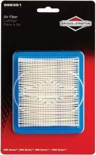 600 Series Air (Briggs & Stratton 527093 992351 600/800/900/1450-Serie Luftfilter, schwarz)