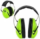 Peltor Kids Ear Muffs Headband - Neon Green by Peltor