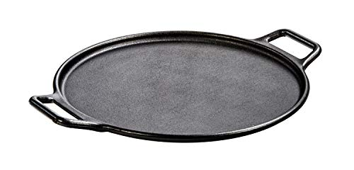 Lodge Gusseiserne Pizza-Pfanne, 35,56 cm, von Werk geölt Lodge Logic Cast Iron Pizza Pan