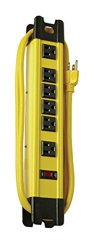 Coleman Kabel 046576-outlet Metall Power Streifen, Heavy Duty Design, mit 15-feet -