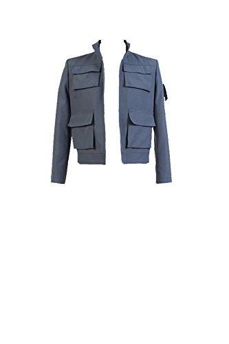 Fuman Star Wars ANH A New Hope Han Solo Kostüm nur Jacke Grau XL