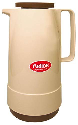 Helios Standard Plastique Isotherme, 1.0 Litre, Plastique, Beige/Marron, 30 x 30 x 26.4 cm