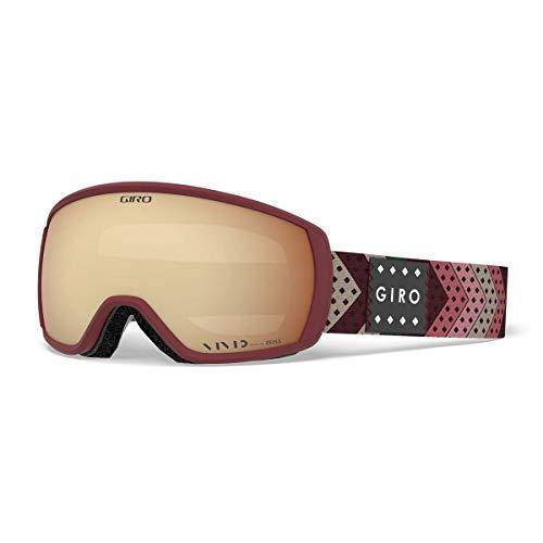 Giro Snow Damen Facet Skibrille Scarlet mo Rockin Unisize