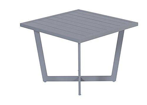 Garden Impressions 07038GT Side Table, Arctic Grau, 62,5 x 62,5 x 47 cm