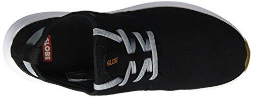 Globe Herren Dart Lyt Low-Top Schwarz (black/grey/orange)