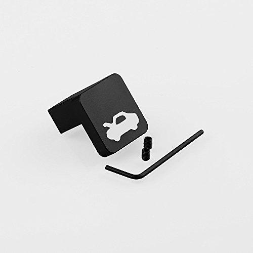 elegantstunning Kit de réparation de poignée de Capot pour Honda Civic Ridgeline Element Noir