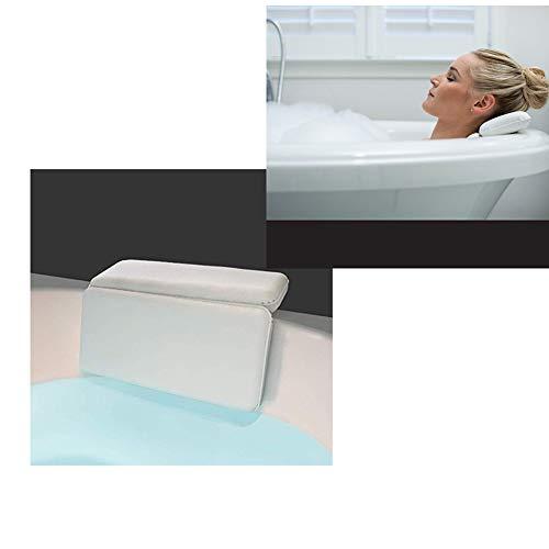 Badewannenkissen, rutschfestes Spa-Badekissen für Schulter- und Nackenstütze mit für Jede Badewanne