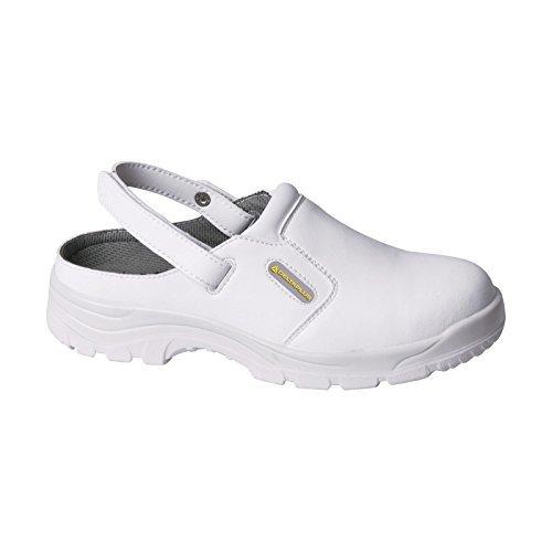 Delta Plus MAUBEC3 Blanc Sbea SRC Sabots Lavable en machine Toe de sécurité white