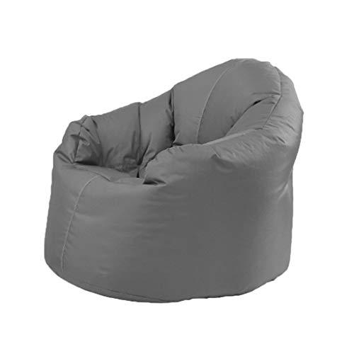 Canapés Pouf Dossier Vêtements Paresseux Chaise Douce avec Choix De Couleurs Multiples Pouf Simple pour Jardin Intérieur (Color : Gray, Size : 31.4 * 27.5 * 31.4in)