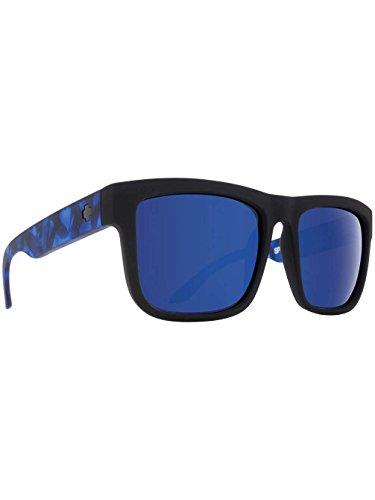 Spy Herren Sonnenbrille Discord Soft Matte Black/Navy Tort