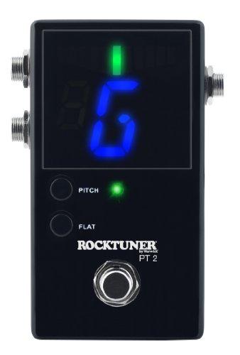 Rocktuner PT-2 schwarz / chromatisches Bodenstimmgerät im Metallgehäuse