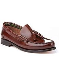 c0c472556c5 Mocasines con borlas para Hombre. Zapatos Castellanos Fabricados con Piel  bovina. Disponibles Desde la