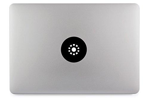 Iron Macbook Aufkleber Man (Ironman Reactor Rund Kreis Apple MacBook Air Pro Aufkleber Skin Decal Sticker Vinyl (15