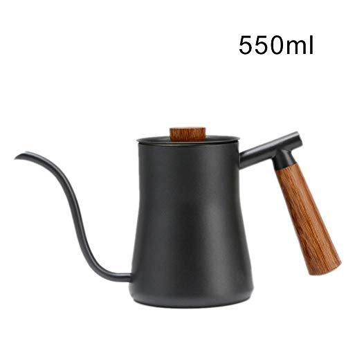 Vintage Schwanenhals Wasserkocher Kaffeekanne - Edelstahl Long Schmale Auslauf Kaffee & Teekanne mit...
