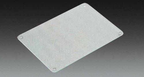 Kesper Glas-Schneideplatte XL, Schneidebrett, Küchenplatte, Glasplatte, Maße: 400 x 300 x 7 mm