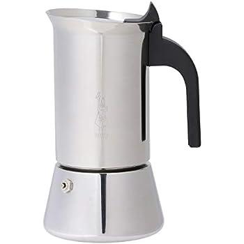 Cilio Espressokocher Rigoletto für 6 Tassen Espresso Mokka kochen Edelstahl