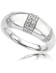 Orphelia Damen-Ring 925 Sterling Silber mit Cubic Zirkonia