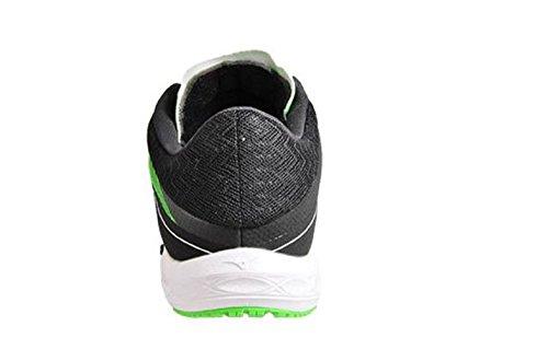 Mizuno Wave Sonic, Chaussures De Gymnastique Pour Hommes Green Black