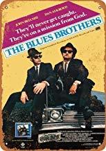 Preisvergleich Produktbild Metallschilder 1980 Blues Brothers Movie Vintage Retro Blechschild Wanddekoration,  Blechschild für Garage Man Cave