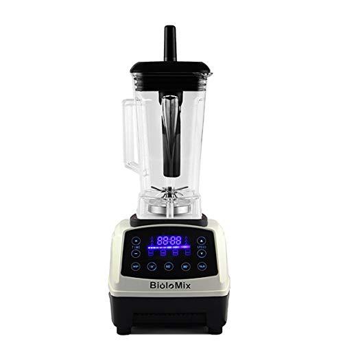 ZJH Elektrischer Multifunktions-Mixer für die Arbeitsplatte, Smoothie-Mixer-Entsafter mit 2200 W und professioneller Leistung, digitalem Touchpad und 3-Stunden-Timer,A - Teig Kneten Klinge